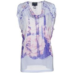 Class Roberto Cavalli T-shirt ($160) ❤ liked on Polyvore featuring tops, t-shirts, purple, logo top, jersey top, short sleeve tops, modal t shirts and jersey t shirt