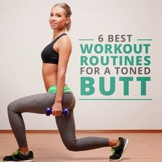 6 Best Workout Routines For A Toned Butt | Medi Craze