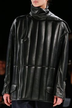 Chalayan...men's quilted leather jacket