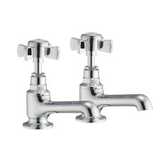 Westminster Luxury Bath Filler Taps Pair  • Manufactured from solid brass with a chrome finish  • Minimum Pressure – 0.5 Bar (flow rate of 6.2 litres per minute)  • Suitable for all plumbing systems  • Bath Waste supplied separately  • 10 Year Warranty