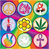 Hippy. Sixties
