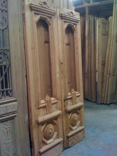 Old doors refurbished for the pantry or laundry | Furniture ...