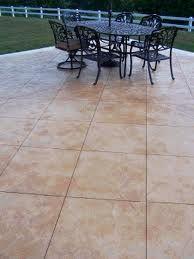 Scored Concrete   Basement Floor?
