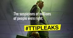 Greenpeace Netherlands has released secret EU-US #TTIP negotiations. You should have access to these texts, because democracy needs transparency! TTIP poses a great threat to the environment and food safety. #TTIPleaks