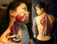 Apprendre l'Anatomie grâce au Body Painting