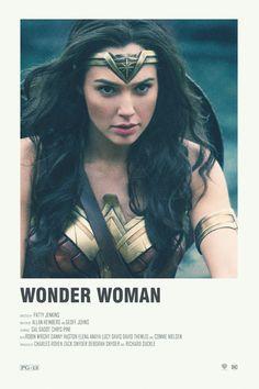 Wonder Woman alternative movie poster Visit my Store