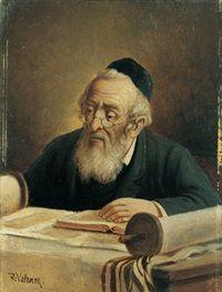 Portrait of a Rabbai by Raimund Volanek