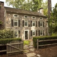 Bucks Co. is famous for it's old stone houses.