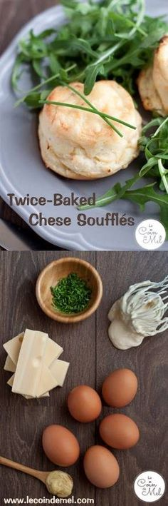 The Easiest Way to Make a Cheese Soufflé - Twice-Baked Cheese Soufflés - So Easy - ‪#‎RennieHappyEating‬ ‪#‎sp‬