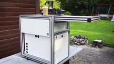Bau einer Frischluftküche für den VW T5 Multivan - YouTube