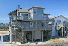 Windemere: 4 Bedroom, 3 1/2 Bath - Oceanfront - Buxton NC