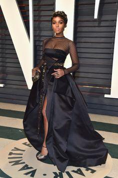 Soirée de clôture des Oscars 2017  Janelle Monae - Oscars 2017  les stars à 01454aad8d6e