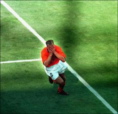 Image detail for -Bergkamp scores the 2-1 in the '89th minute in the quarterfinals of the WC 1998 against Argentina.