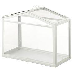 RISATORP Utility cart, white - IKEA Indoor Greenhouse, Small Greenhouse, Greenhouse Plans, Indoor Garden, Indoor Outdoor, Dome Greenhouse, Garden Pots, Garden Ideas, Ikea Socker