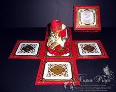 nupur creatives: Bengali Wedding Magic Explosion Box