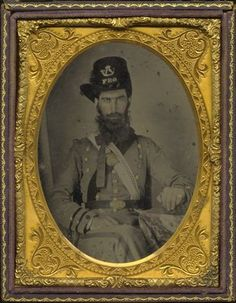Henry Speck Harris (1837-1863) Flat River Guard Company B, 6th North Carolina Infantry Regiment;  North Carolina Collection Photographic Archives, The Wilson Library, University of North Carolina at Chapel Hill.