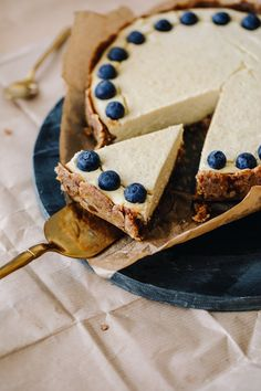 Tart with Millet Cream - Anna Lewandowska - healthy plan by Ann Simply Recipes, New Recipes, Cake Recipes, Vegan Recipes, Something Sweet, Healthy Desserts, Food Processor Recipes, Sweet Tooth, Food And Drink