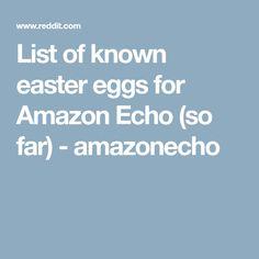 I didn't discover any of these; I just gathered them from various places. * Alexa, I am your father. Alexa Dot, Alexa Echo, Amazon Echo Tips, Amazon Dot, Alexa Skills, Welcome To The Future, Technology Hacks, 4th Grade Classroom, Alexa Voice
