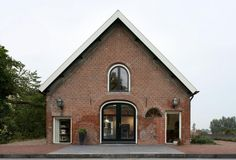 Brick barn in the Netherlands converted to a modern #dreamhouseoftheday via @Contemporist
