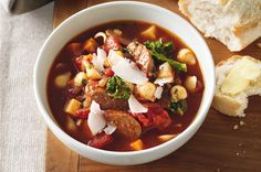 This authentic shrimp, andouille, and okra gumbo recipe is simmered for hours and is like a true taste of New Orleans in your kitchen. Creole Recipes, Cajun Recipes, Seafood Recipes, Soup Recipes, Cooking Recipes, Healthy Recipes, Gumbo Recipes, Chowder Recipes, Gourmet