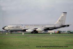 USAF Ohio ANG 145 ARS Boeing KC-135A Stratotanker 58-0017 at RAF Mildenhall (1979)