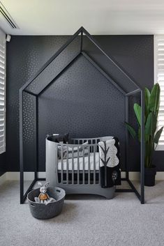 Baby Boy Nursery Room İdeas 432767845437327144 - Sophisticated Rooms for Children // Juju Papers Source by charlottebillau