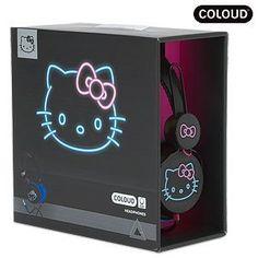 ZD Headphone Coloud Hello Kitty Night Life