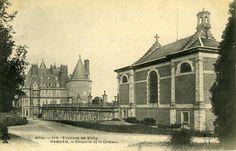 Aile des cuisines | Domaine Royal de Randan Las Mercedes, Clermont Ferrand, Chapelle, Palaces, Painting, Auvergne, Cards, Travel, Palace