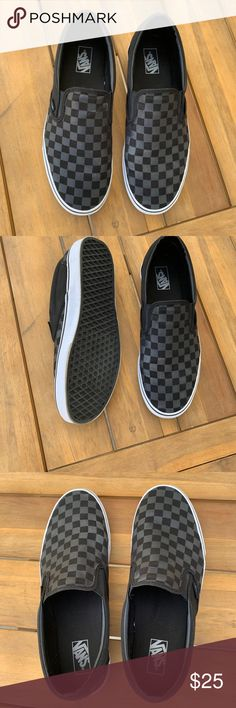 9e6c6e9ca58 Men s slip on Vans checkerboard black Sz 13 Vans® Classic Slip-On™ Core