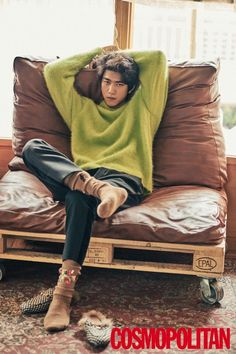 Sung Joon gives insight into his hobbies in 'Cosmopolitan' | allkpop.com