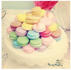 macaroons...never had one. but boy they are pretty :D
