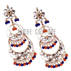 Kundan jewellery is also called engraved jewellery and is unique and a kind in itself. Considered to be a traditional jewellery of India, it is used in many traditional and auspicious occasions, like marriages and festival celebrations. Visit us here:  https://www.facebook.com/AdobeCouture