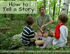 Following the Thread | How to Tell a Story - David Sewell McCann, of Sparkle Stories, shares four easy steps for telling an intuitive story. Most important, start talking, trusting that it is right - via Crafting Connections, guest contributor Sparkle Stories