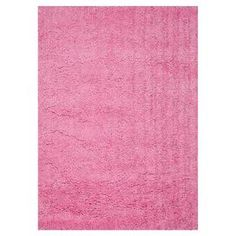 Add a splash of spring style to your bedroom, living room, or office with this eye-catching shag rug.