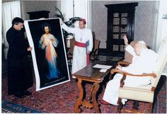 """The Great Mercy Pope Pope John Paul II, both in his teaching and personal life, strove to live and teach the message of Divine Mercy. As the great Mercy Pope, he wrote an encyclical on Divine Mercy:  """"The Message of Divine Mercy has always been near and dear to me… which I took with me to the See of Peter and which it in a sense forms the image of this Pontificate."""""""