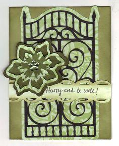 Cricut ornamental iron