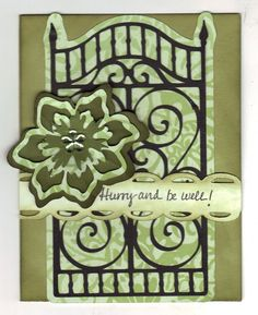 Cricut ornamental iron