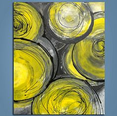 Loving yellows and greys these days!