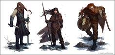 Nights Watch Characters by ~Andantonius on deviantART