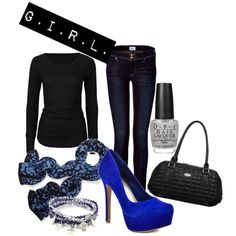 Rocker Style with Blue :)