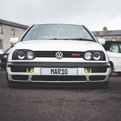 One from mlvw brilliant show and cool pic from @fittedstate #mk3 #16v #gti #golf #vr6 #static #schmidt ...