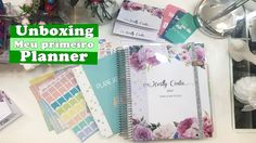 Unboxing: Meu Primeiro Planner - Enjoy Print
