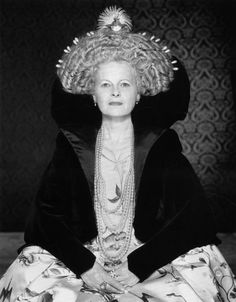 Iconic designer Vivienne Westwood by Gian Paolo Barbieri, 1997***WORN Fashion Journal: the HAIR issue coming November 24, 2012 in wornjounal.