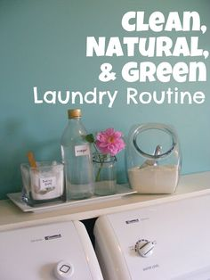 Some of the best advice I've seen on doing laundry without harmful chemicals. Especially helpful if doing infant's or children's laundry. Cleaners Homemade, Diy Cleaners, Diy Simple, Laundry Hacks, Laundry Decor, Laundry Supplies, Laundry Rooms, Natural Home Decor, Cleaning Solutions