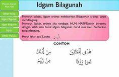 Idgham Bilagunah Quran Verses, Quran Quotes, Islamic Quotes, Learn Quran, Learn Islam, Tajweed Quran, Muslim Religion, Islam For Kids, All About Islam