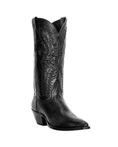Women's Amelia Teju Lizard Boots - Black