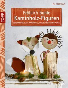Könyv: Vidám - színes farönk figurák - OPITEC-Hobbyfix - kreatív hobby és…