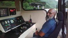 Trem da Mrs, operação de descida no sistema cremalheira da Mrs em Parana...