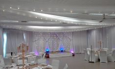 Draping @ Saartjie Baartman Centre Draping, Event Design, Centre, Chandelier, Ceiling Lights, Home Decor, Style, Swag, Candelabra