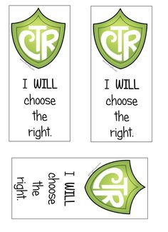 CTR Crafts Blog: I will choose the right BOOKMARKS